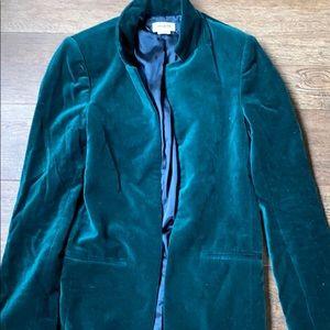 Zadig&voltaire emerald green blazer